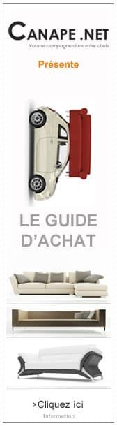 guide d'achat canapés