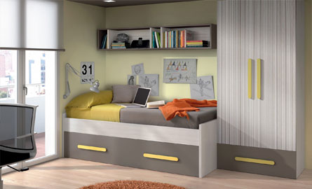 lit gigogne pour chambre d 39 enfant. Black Bedroom Furniture Sets. Home Design Ideas