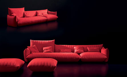 r ussir sa d co avec un canap rouge. Black Bedroom Furniture Sets. Home Design Ideas