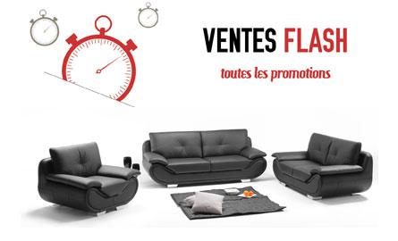 Vente flash canap - Vente flash discount ...