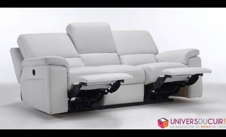 canap de relaxation design en cuir. Black Bedroom Furniture Sets. Home Design Ideas