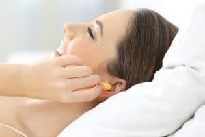 Bouchon oreille pour dormir près d'un ronfleur