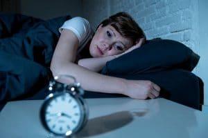 maque de sommeil stress