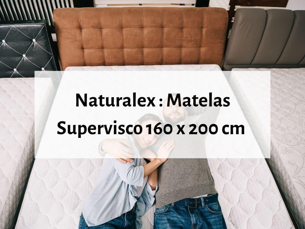 Naturalex matelas Supervisco 2 places