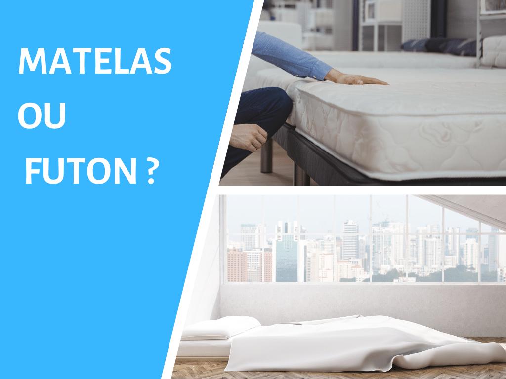Quelles différences entre matelas et futon ?