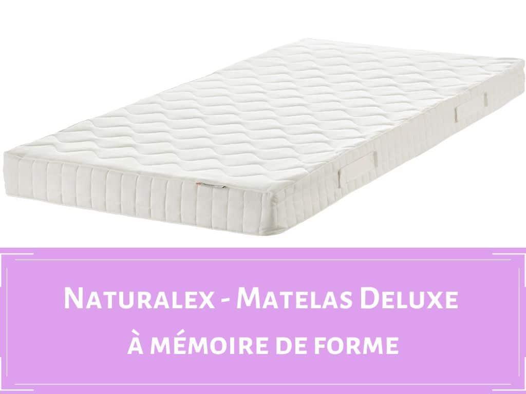 Matelas Deluxe Naturalex
