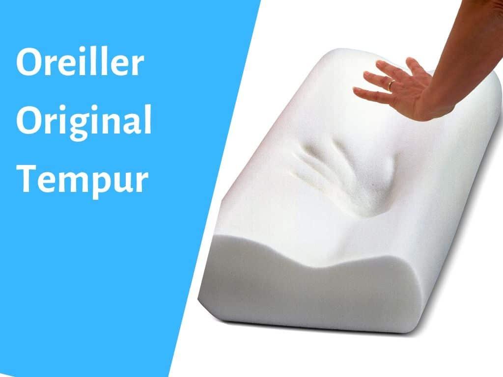 Oreiller originalen mousse à mémoire de forme Tempur