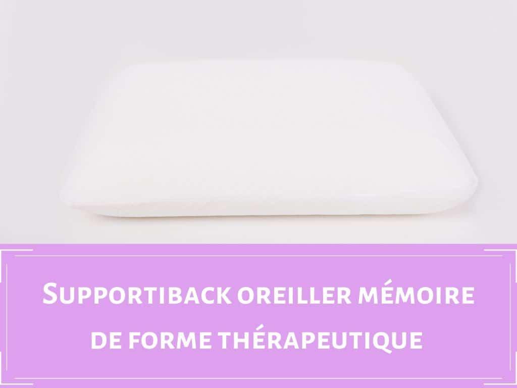 Oreiller thérapeutique Supportiback