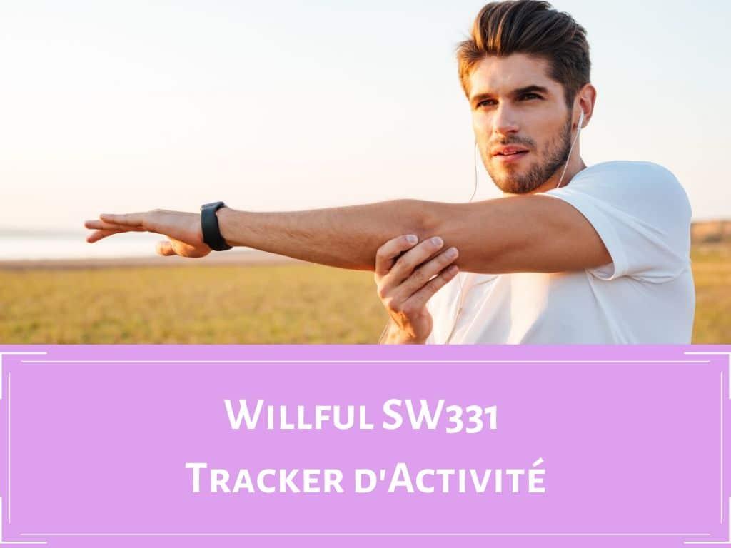 Tracker d'activité Willful SW331