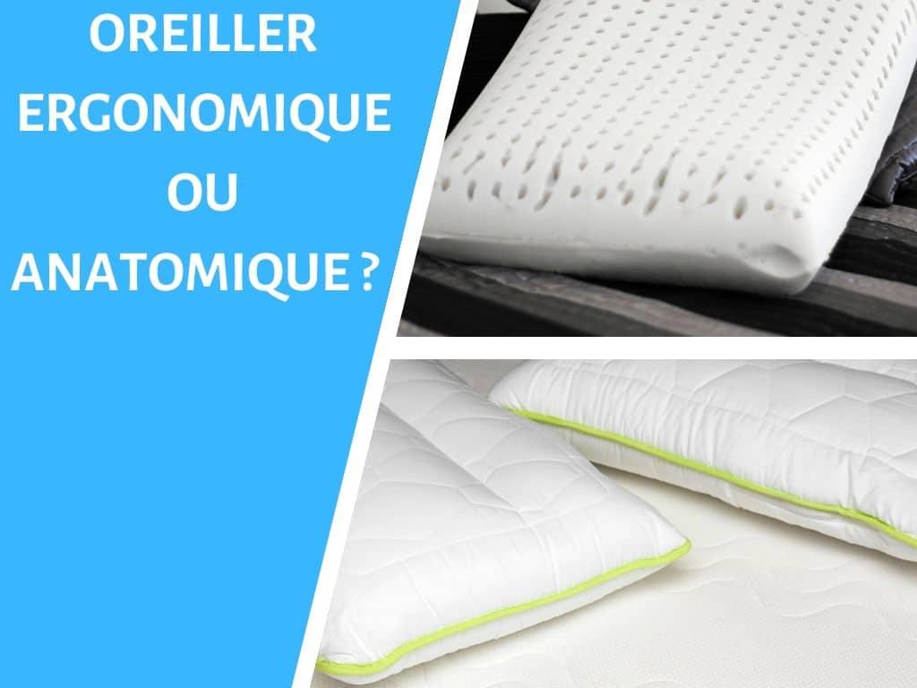 Les différences entre un oreiller ergonomique et anatomique ? 1