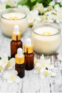 Huiles essentielles en massage