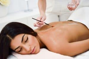 Huile pour massage
