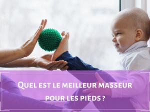 appareil de massage pieds
