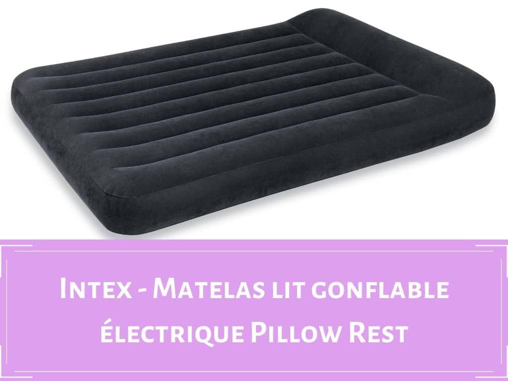 Intex matelas lit gonflable electrique 1 place