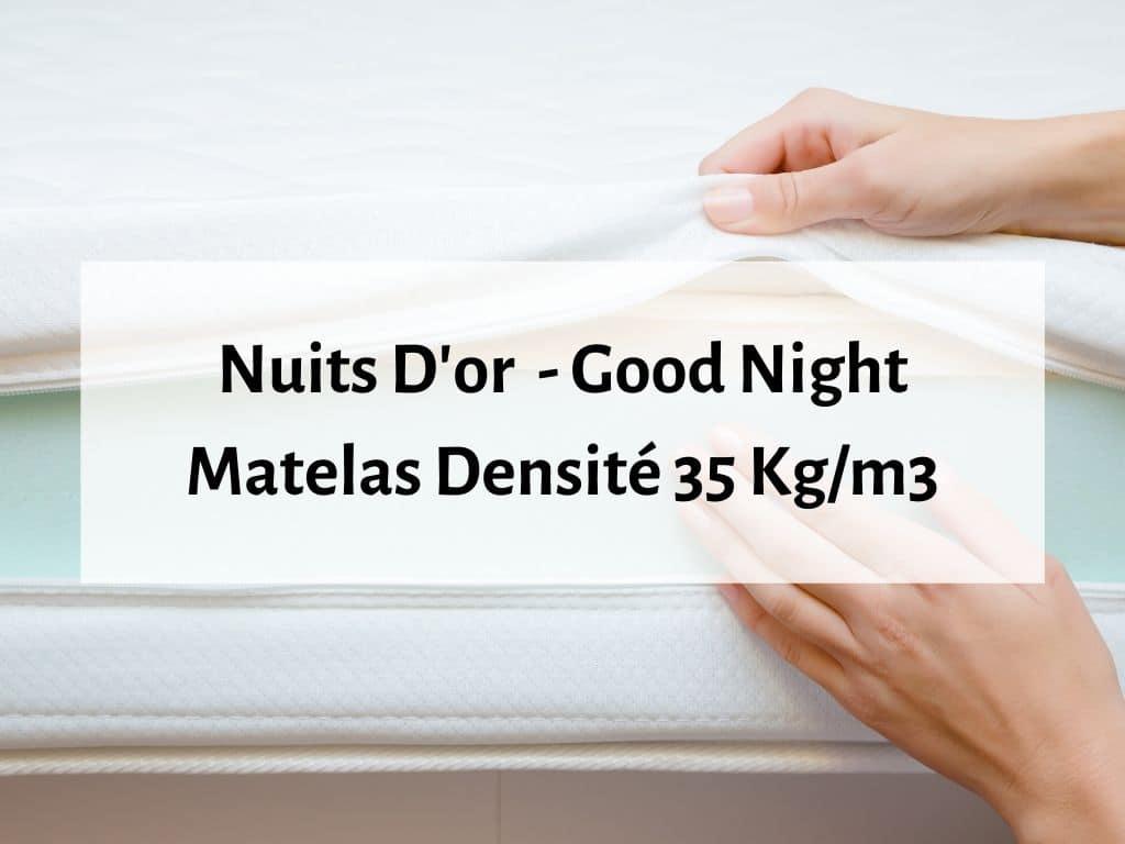 Nuits d'or Good Night matelas ferme orthopédique