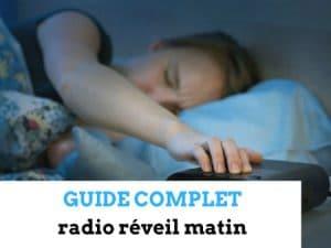 radio réveil matin