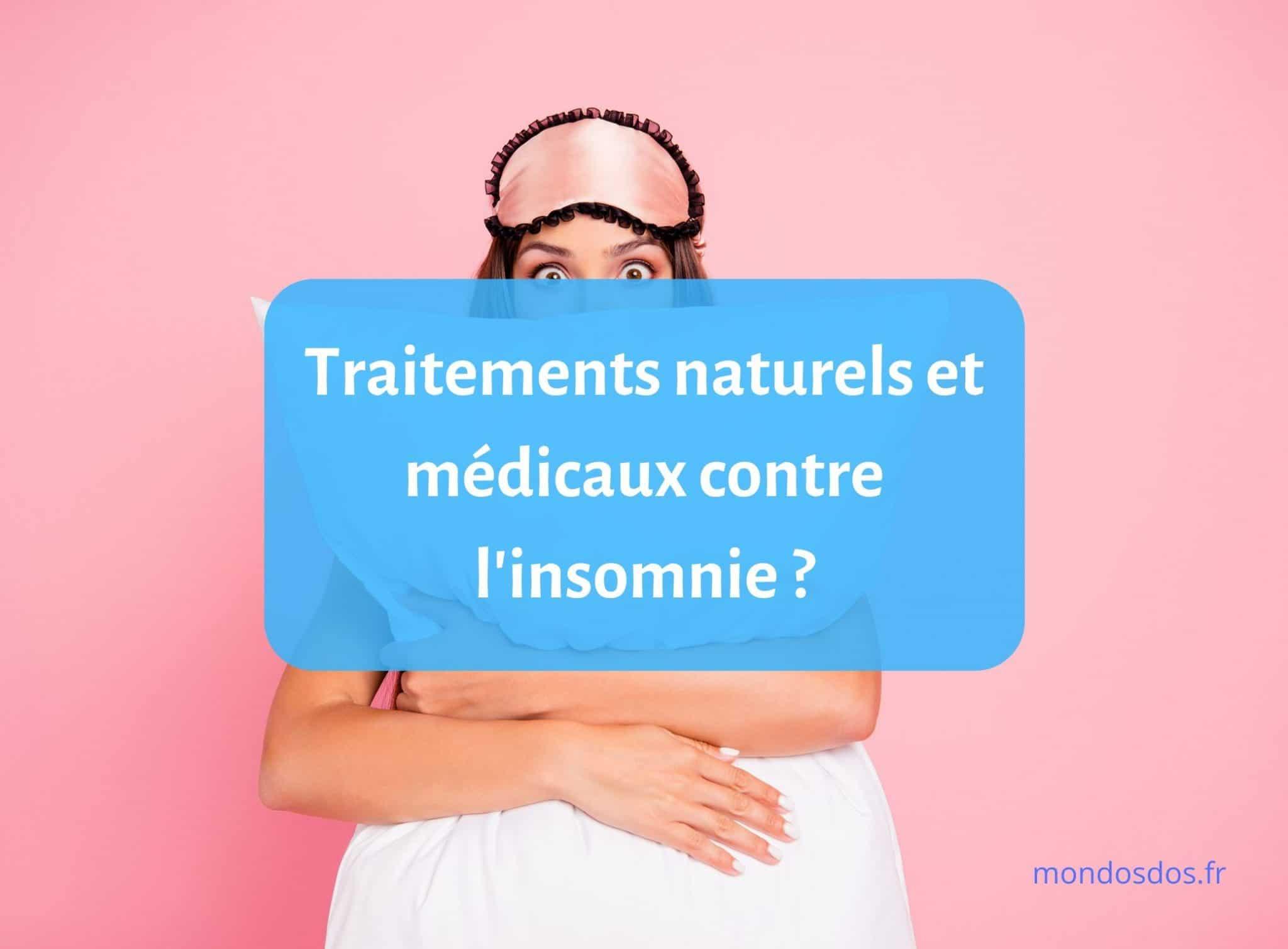 Quels sont les traitements naturels et médicaux contre l'insomnie ? 1