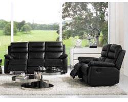 Un vrai canapé relax 2 places manuel 5