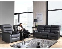 Un vrai canapé relax 2 places manuel 3