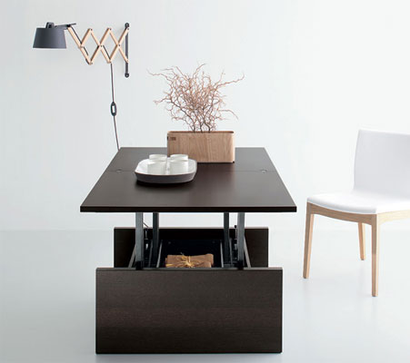 table basse relevable bien la choisir. Black Bedroom Furniture Sets. Home Design Ideas
