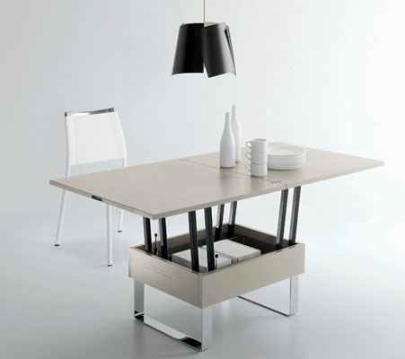 Table basse relevable bien la choisir - Table de salon convertible ...
