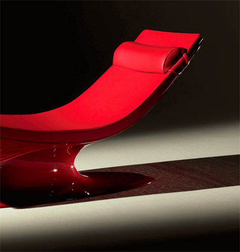Chaise longue salon design - Chaise longue de salon ...