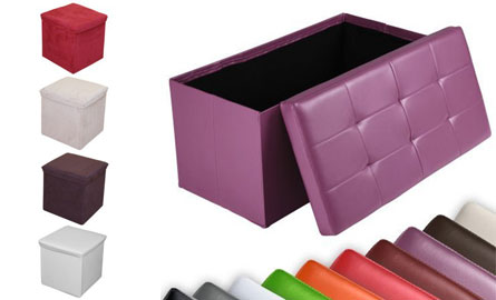 pouf coffre de rangement le cube indispensable. Black Bedroom Furniture Sets. Home Design Ideas