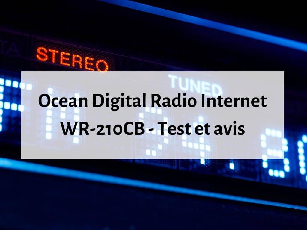 Ocean digital radio wifi bluetooth