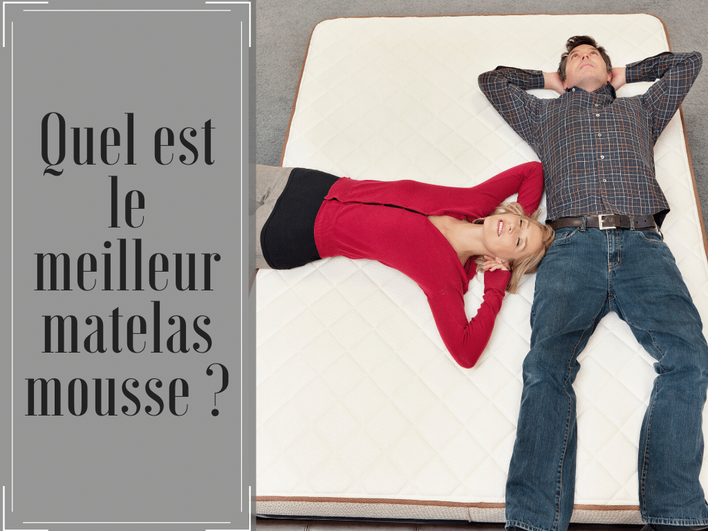 quel est le meilleur matelas en mousse 2018 avis tests et comparatif lequel choisir. Black Bedroom Furniture Sets. Home Design Ideas