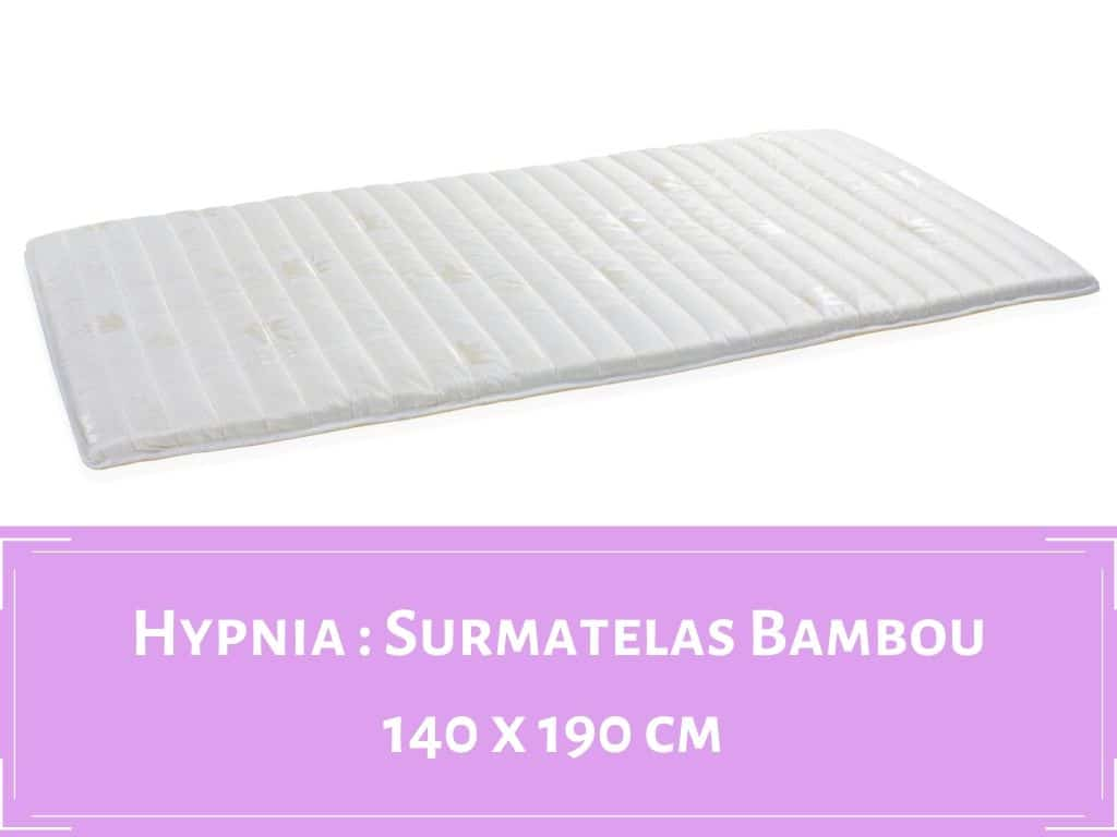 Hypnia Surmatela en bambou 2 places standard