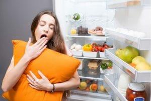 habitude alimentaire impacte le sommeil