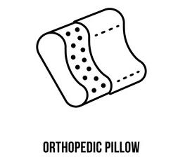 oreiller orthopédique