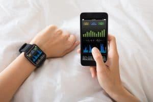 bracelet connecté tracker de sommeil