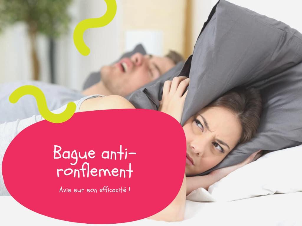 Bague anti-ronflement